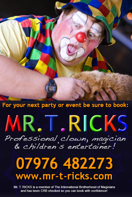 childrens entertainer bridgend