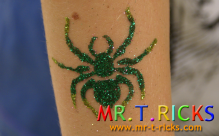 entertainer glitter tattoos service