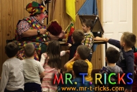 t ricks christmas  childrens party
